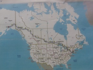 The journey from the East End of Long Island, across Canada, up the Alaska Highway, into Anchorage and back again.