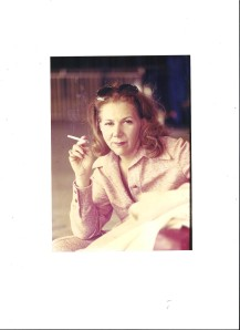 Gladys Bletter's cigarette was her best weapon.