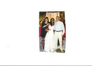 Jonny, Degetu and I at her wedding to Shai Nachman, January 2010