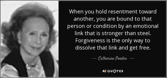 Catherine Ponder: On Giving up our resentment.