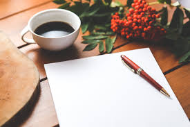 Pen, paper and a cup of coffee--that's all you need!