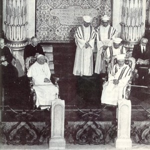 The Pope's Visit at the Synagogue in 1986